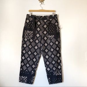 New Free People Imani Belted crop pants